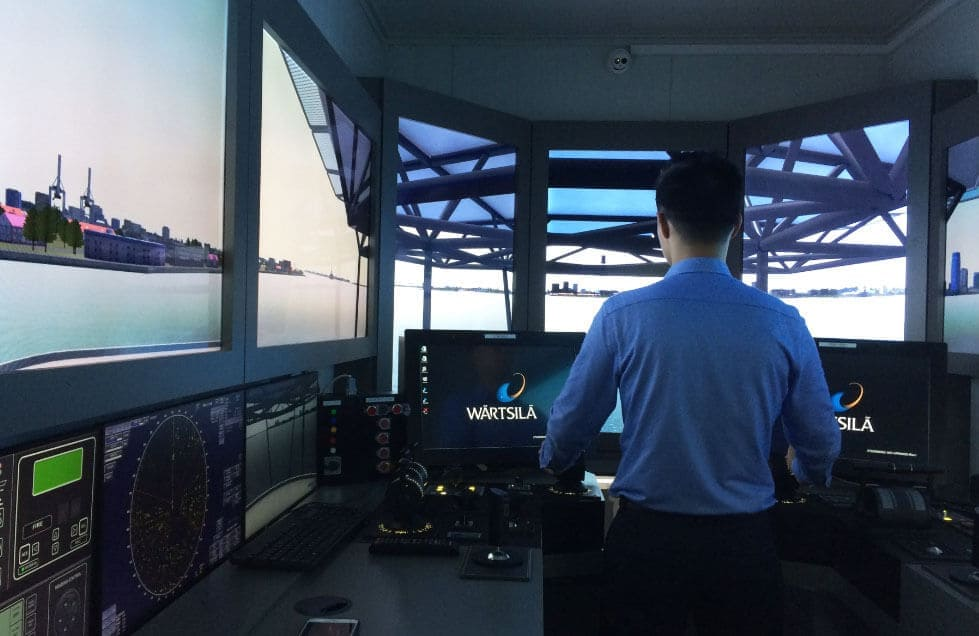 Dynamic positioning course SEA Maritime services